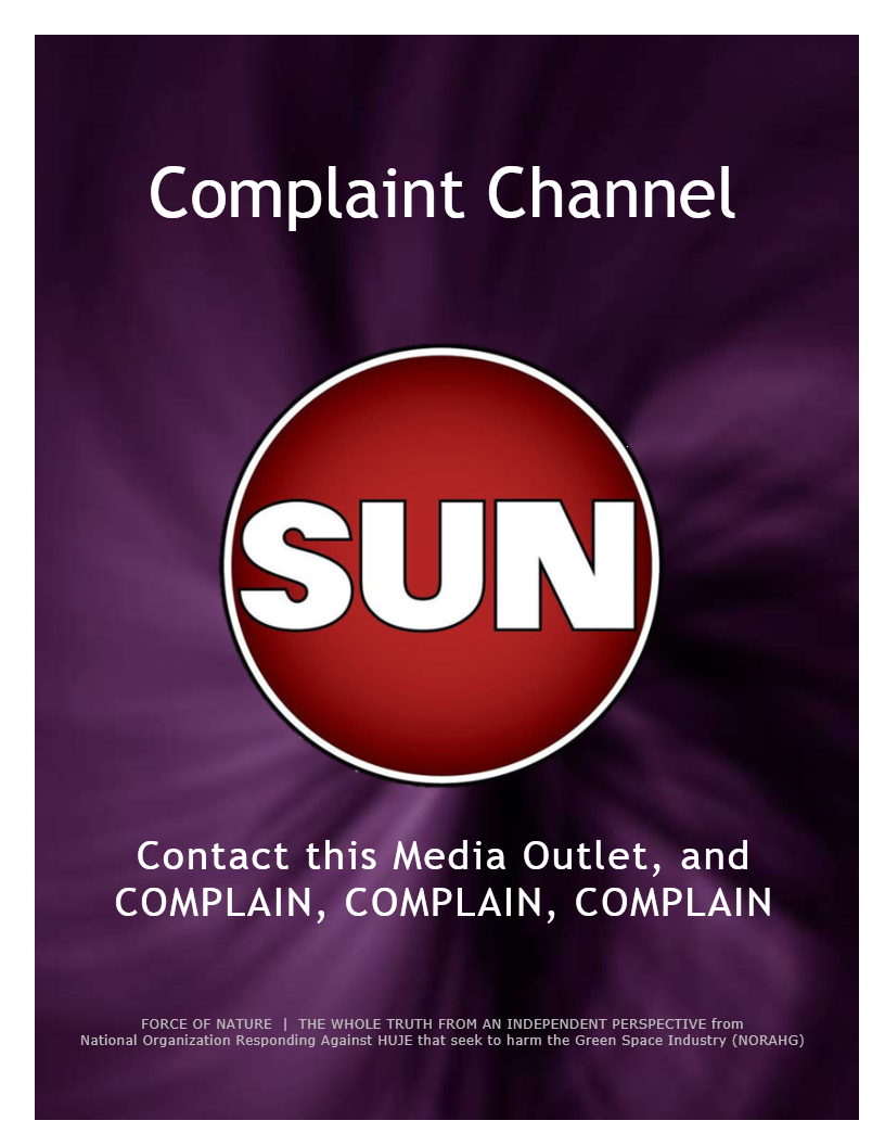 Complaint Channel -- Sun News