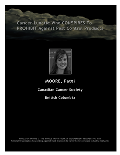 LETTERS TO THE EDITOR -- WEB-PAGE -- Canadian Cancer Society -- Cancer-Lunatics (10) -- 314 x 235 px