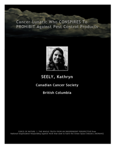 LETTERS TO THE EDITOR -- WEB-PAGE -- Canadian Cancer Society -- Cancer-Lunatics (12) -- 314 x 235 px