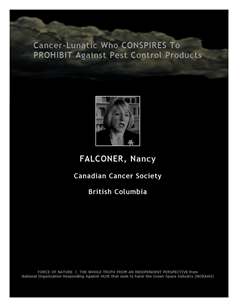 LETTERS TO THE EDITOR -- WEB-PAGE -- Canadian Cancer Society -- Cancer-Lunatics (5) -- 314 x 235 px