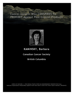 LETTERS TO THE EDITOR -- WEB-PAGE -- Canadian Cancer Society -- Cancer-Lunatics (9) -- 314 x 235 px