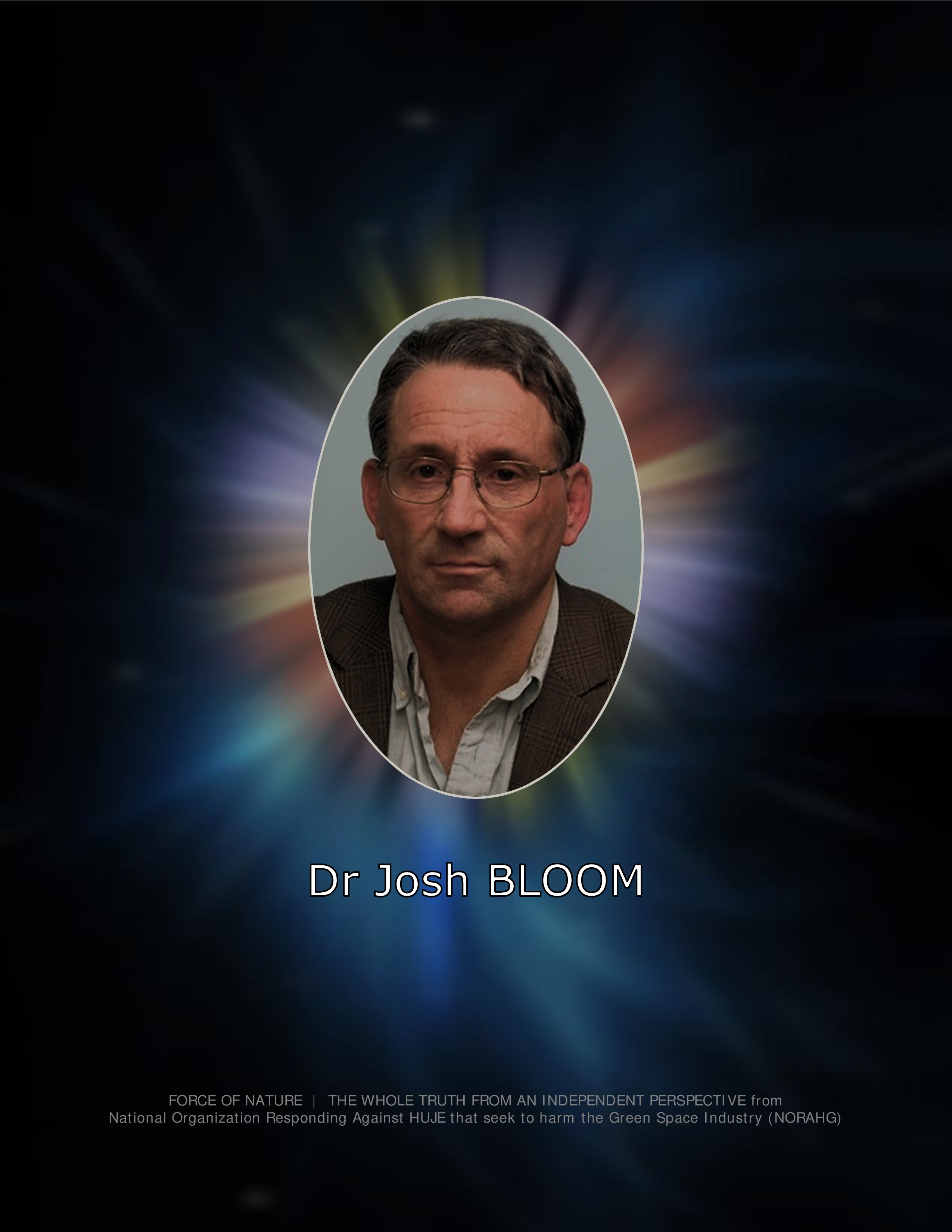 Dr Josh Bloom -- American Council on Science and Health