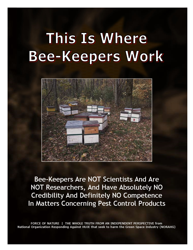 Myth-BUSTING -- Bees -- This Is Where Bee-Keepers Work (3)