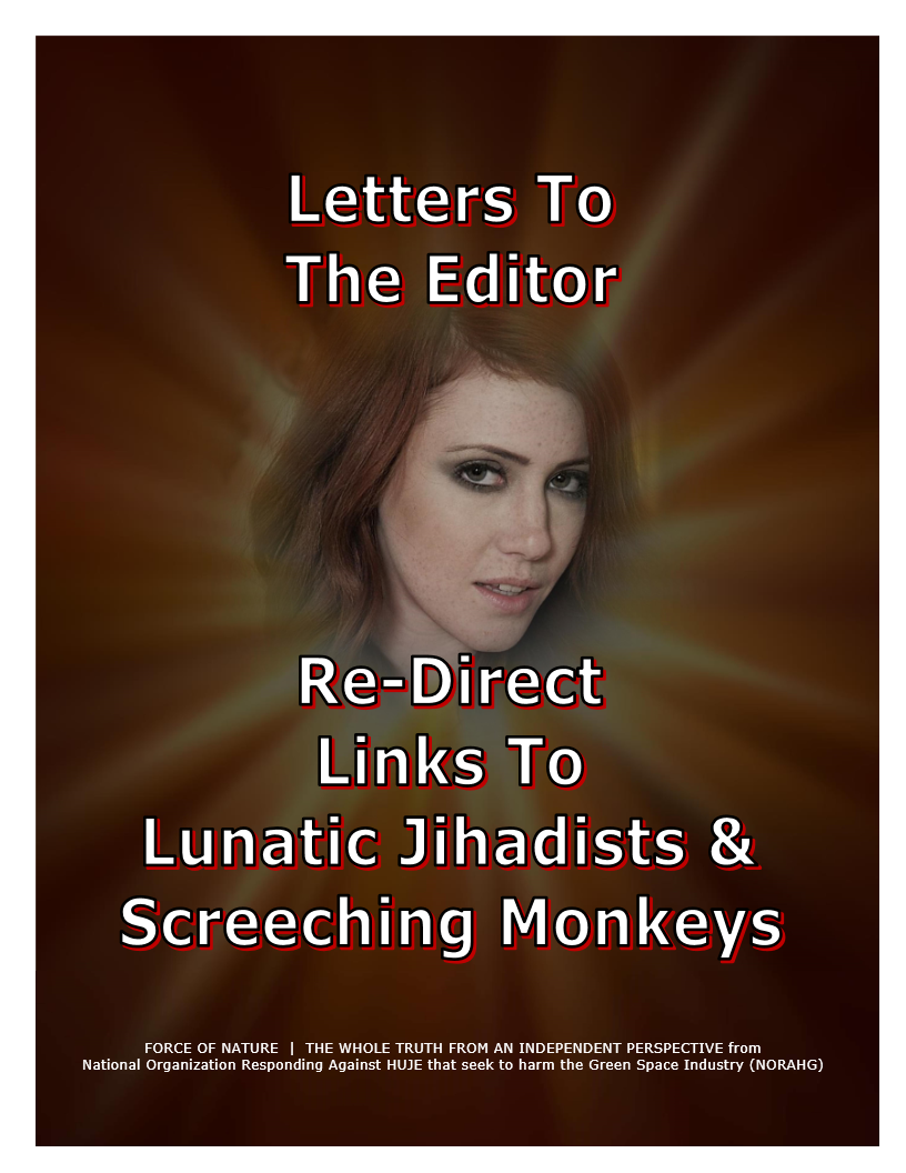 LETTERS TO THE EDITOR -- WEB-PAGE -- Re-Direct Links