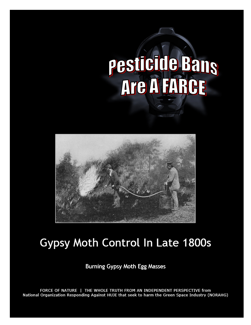 Pesticide Bans Are A Farce -- Gypsy Moth Control In Late 1800s (3) -- Blue Colour