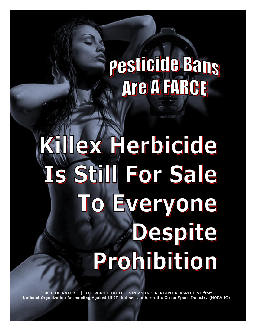Pesticide Bans Are A Farce -- Killex Herbicide Is Still For Sale To Everyone ... (1) -- Blue Colour