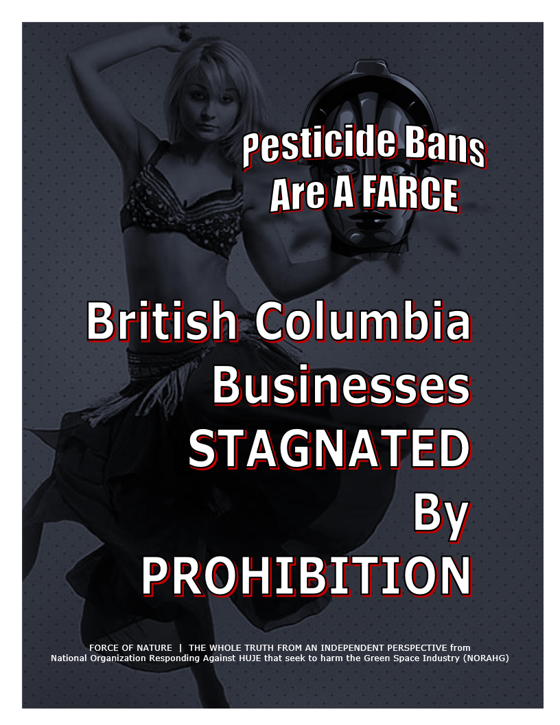 Pesticide Bans Are A Farce -- Province -- British Columbia -- Blue Colour