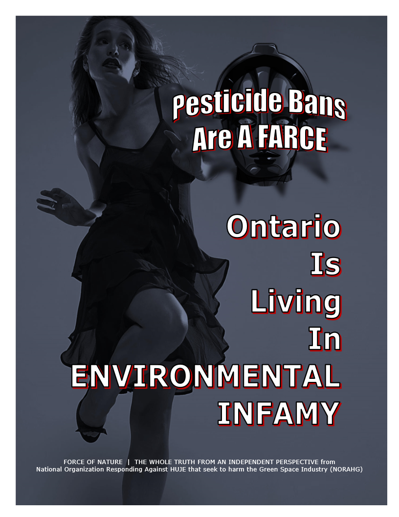 Pesticide Bans Are A Farce -- Province -- Ontario -- Blue Colour