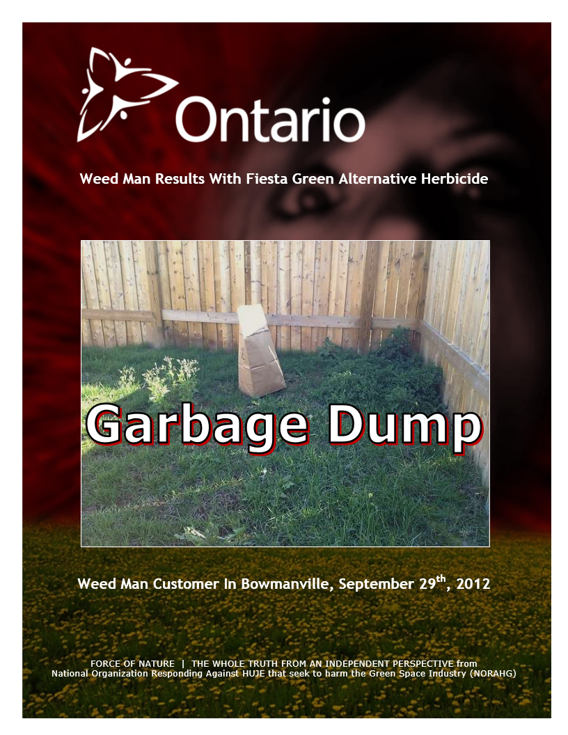Garbage Dumps -- Photo Gallery -- Ontario -- Weed Man (2)