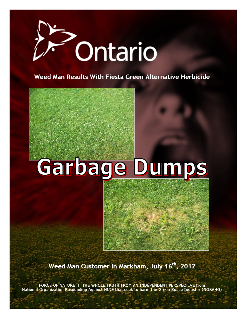 Garbage Dumps -- Photo Gallery -- Ontario -- Weed Man (3)