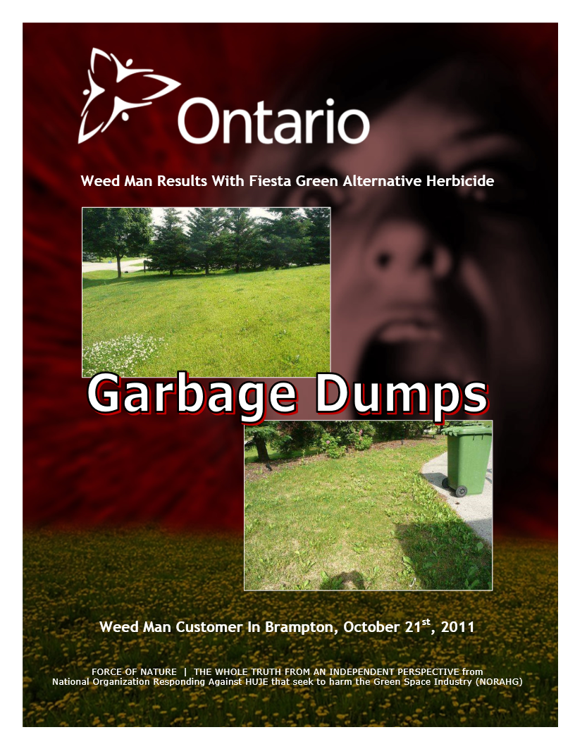 Garbage Dumps -- Photo Gallery -- Ontario -- Weed Man (4)