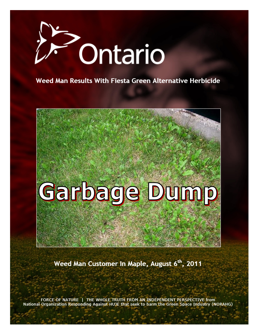 Garbage Dumps -- Photo Gallery -- Ontario -- Weed Man (5)