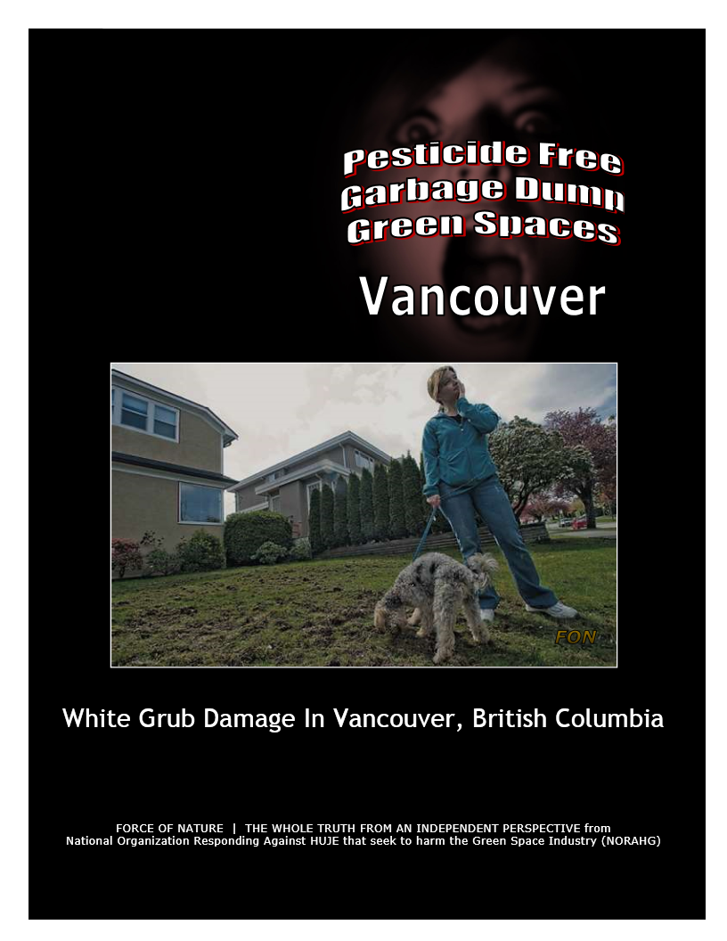 Garbage Dumps -- Photo Gallery -- Vancouver (1) -- White Grubs