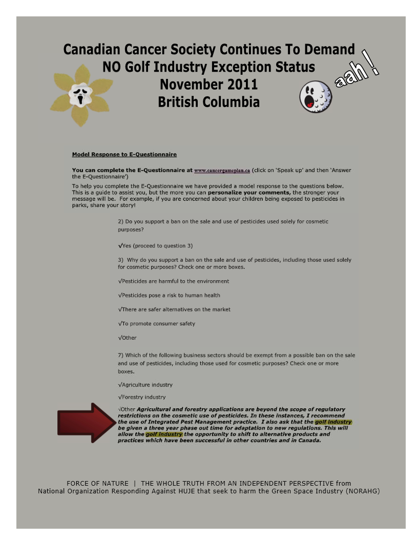 Organization -- Canadian Cancer Society -- NO Golf Exception Status (8)
