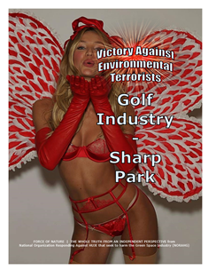 VICTORY AGAINST TERRORISTS -- WEB-PAGE -- Golf Industry -- Sharp Park -- 314 x 235 px