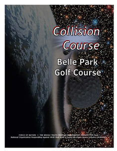 Collision Course -- WEB-PAGE -- Cover Page -- Belle Park Golf Course -- 314 x 235 px