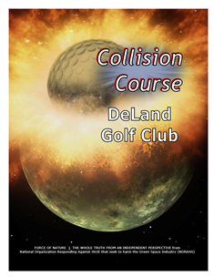 Collision Course -- WEB-PAGE -- Cover Page -- DeLand Golf Club -- 314 x 235 px
