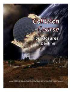 Collision Course -- WEB-PAGE -- Cover Page -- Foreclosures & Decline -- 314 x 235 px