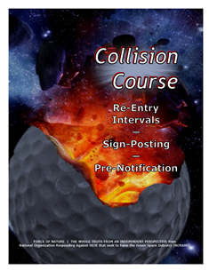 Collision Course -- WEB-PAGE -- Cover Page -- Re-Entry Intervals, ... -- 314 x 235 px