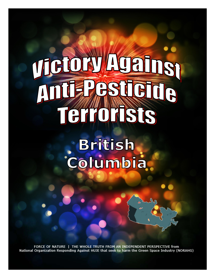 VICTORY AGAINST TERRORISTS -- British Columbia (1)
