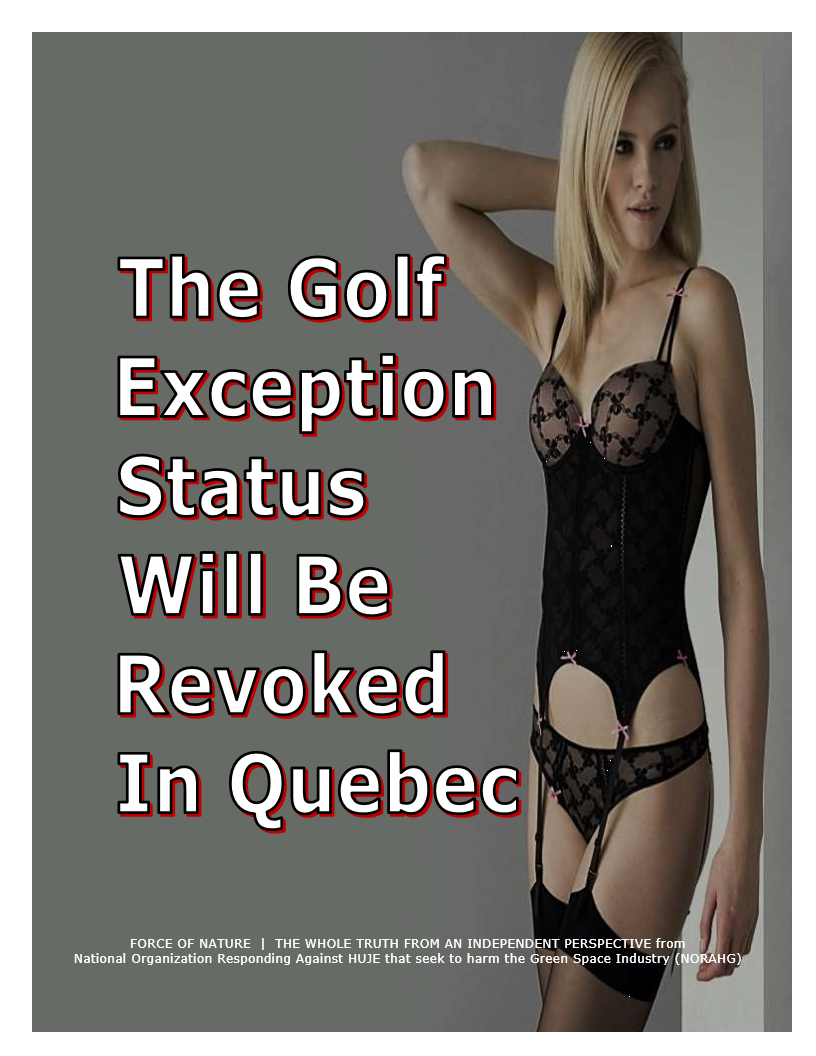 Golf -- Collision Course -- POST -- Quebec (23A)