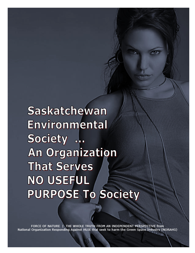 Organization -- Saskatchewan Environmental Society ( SES ) (22)