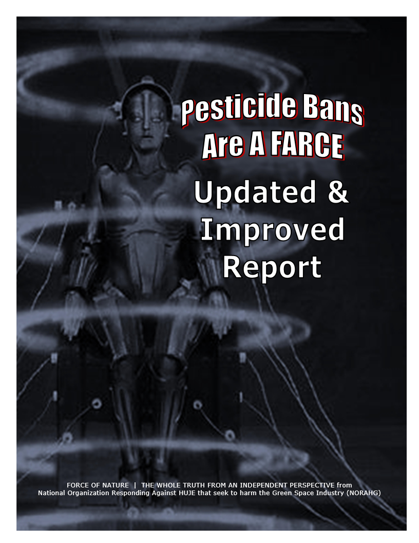 Pesticide bans are a farce announcement updated for What is farcical used for