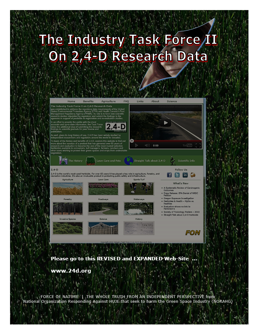 The Industry Task Force II On 2,4-D Research Data (9)