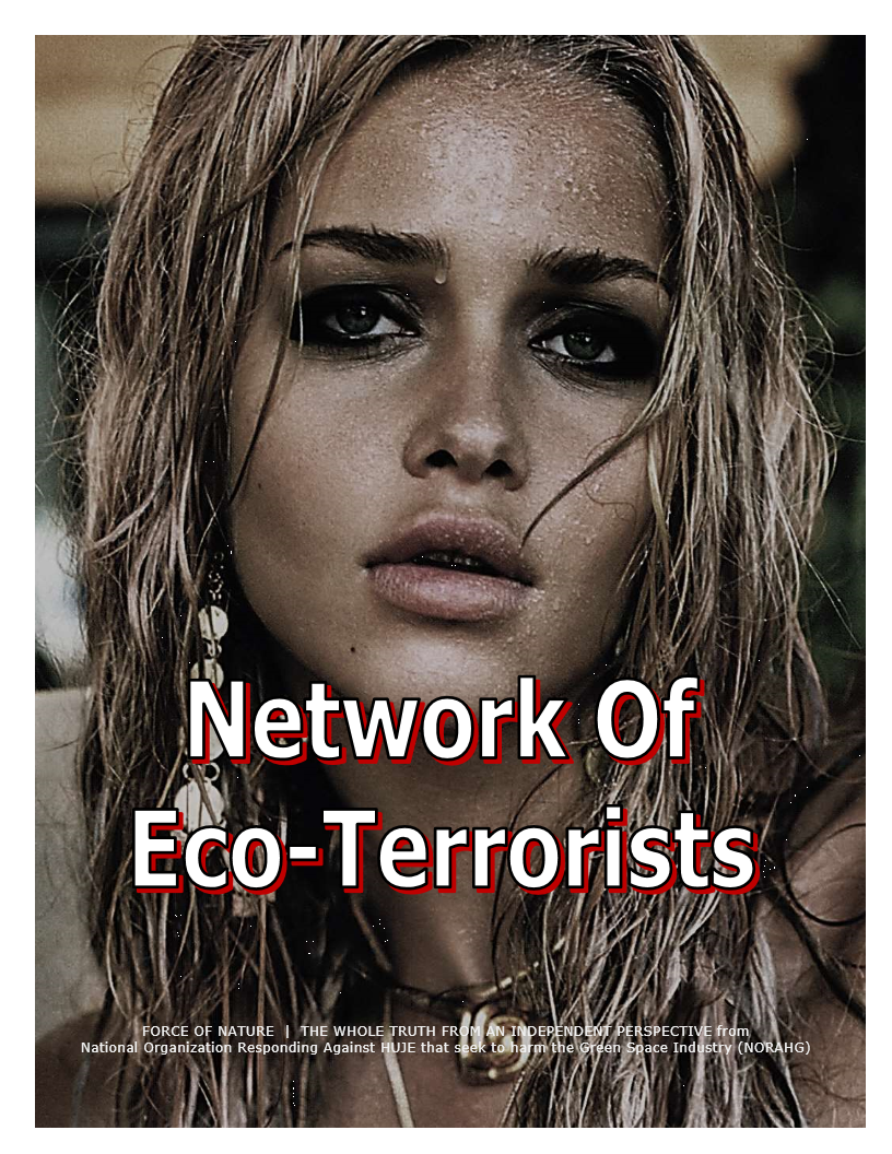 Levant -- Oil Protestors -- Network Of Eco-Terrorists (9)