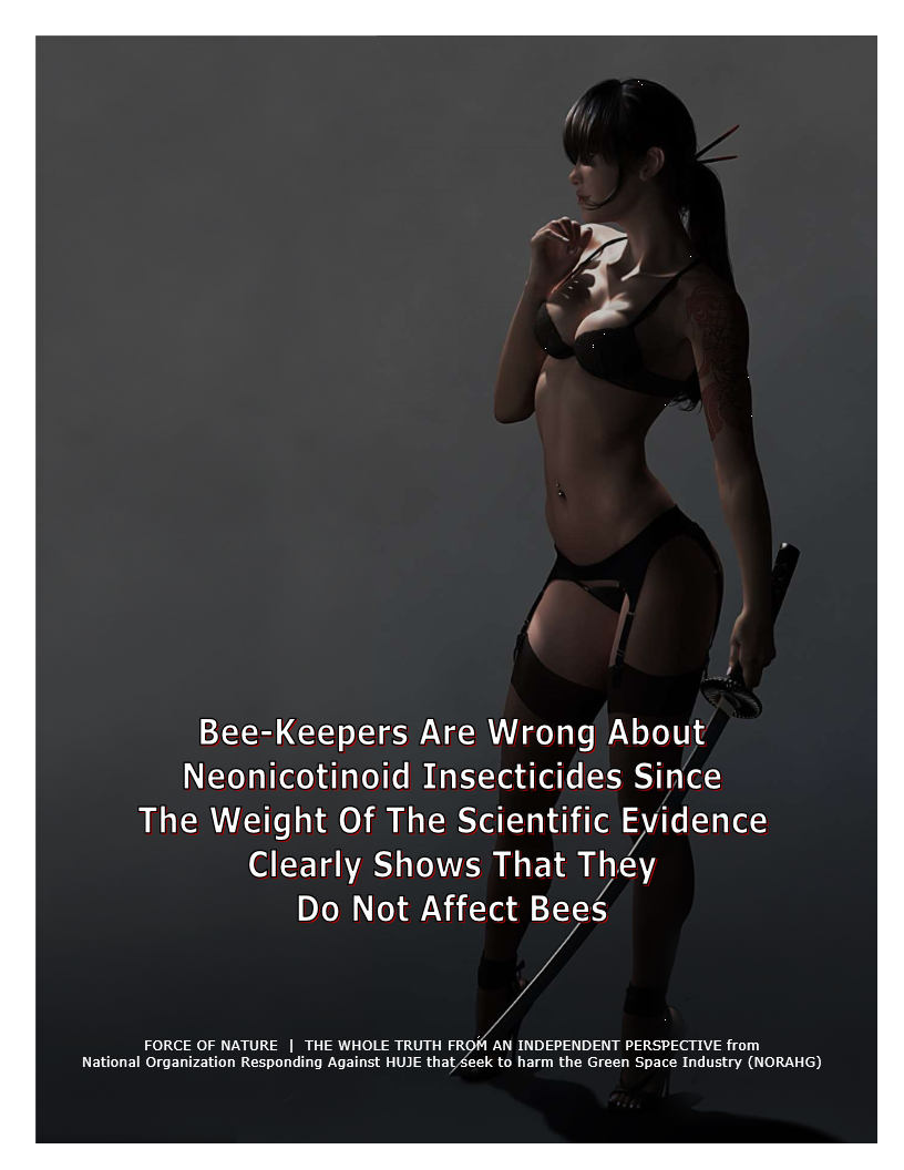 Myth-BUSTING -- Bees -- Illegal, Unregistered, Deadly & Cancer-Causing Products (6)