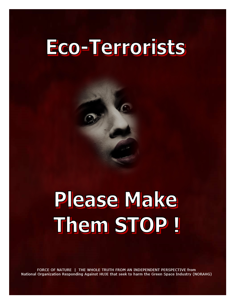 Network Of Eco-Terrorists (3A)
