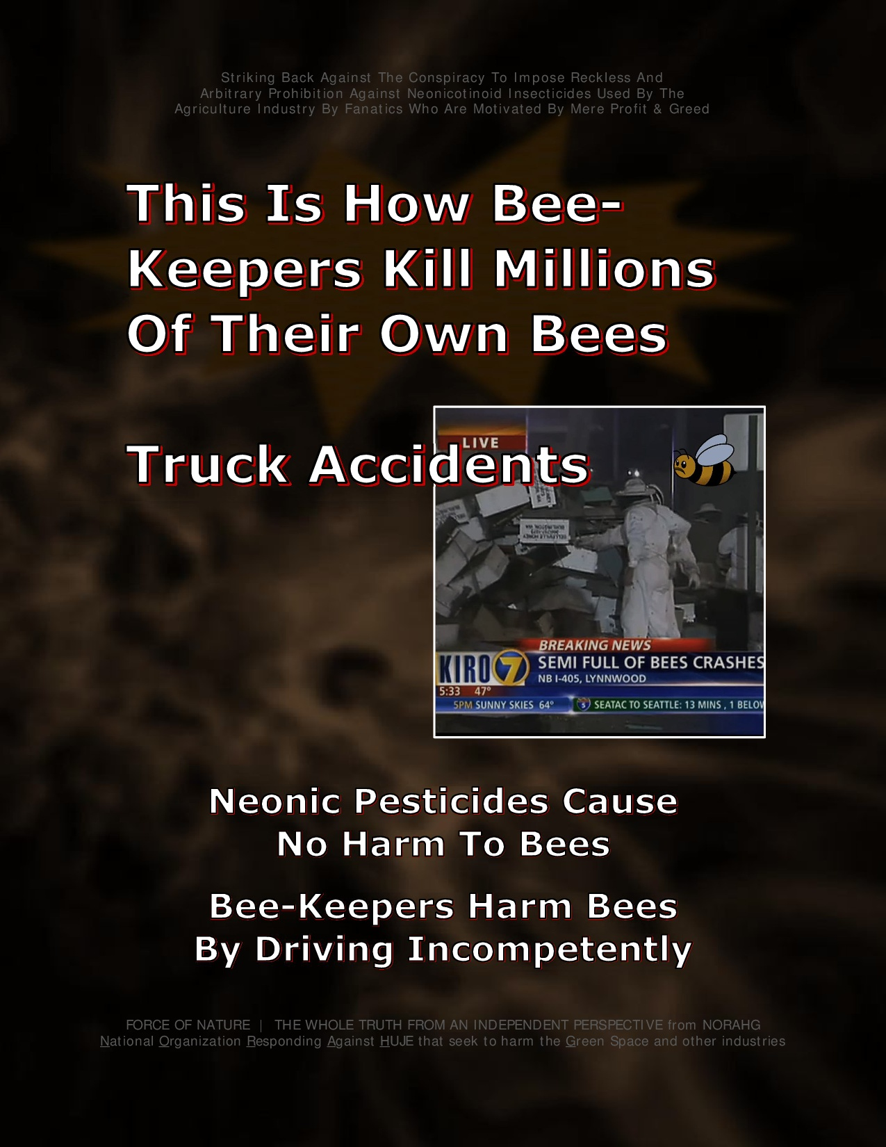 Bee Colony Collapse Disorder -- Truck Accidents -- 1-0