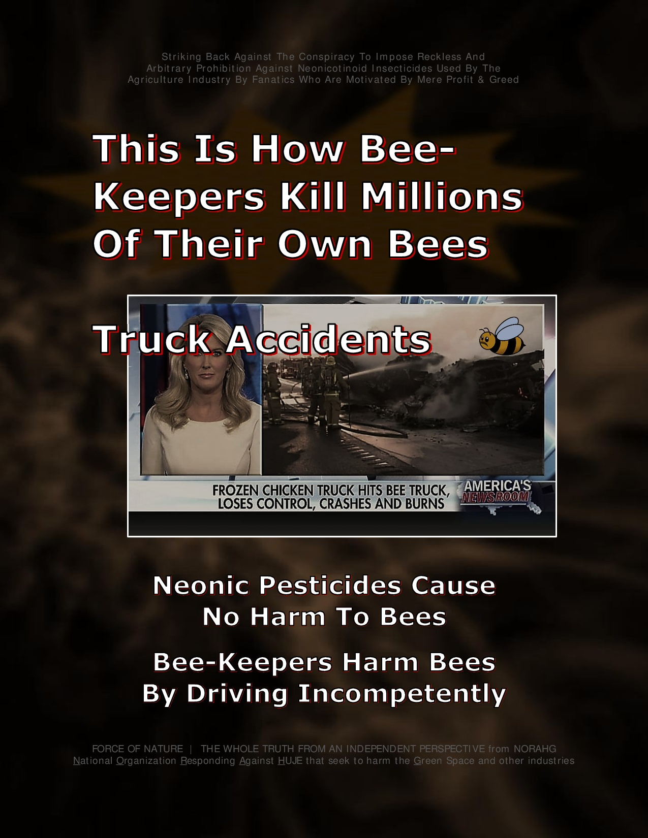 Bee Colony Collapse Disorder -- Truck Accidents -- 1-1