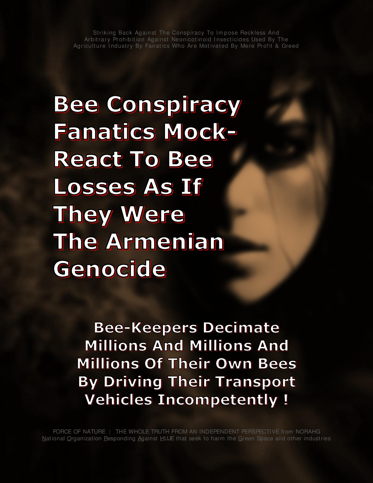 Bee Colony Collapse Disorder -- Truck Accidents -- 1 -- Armenian Genocide-0