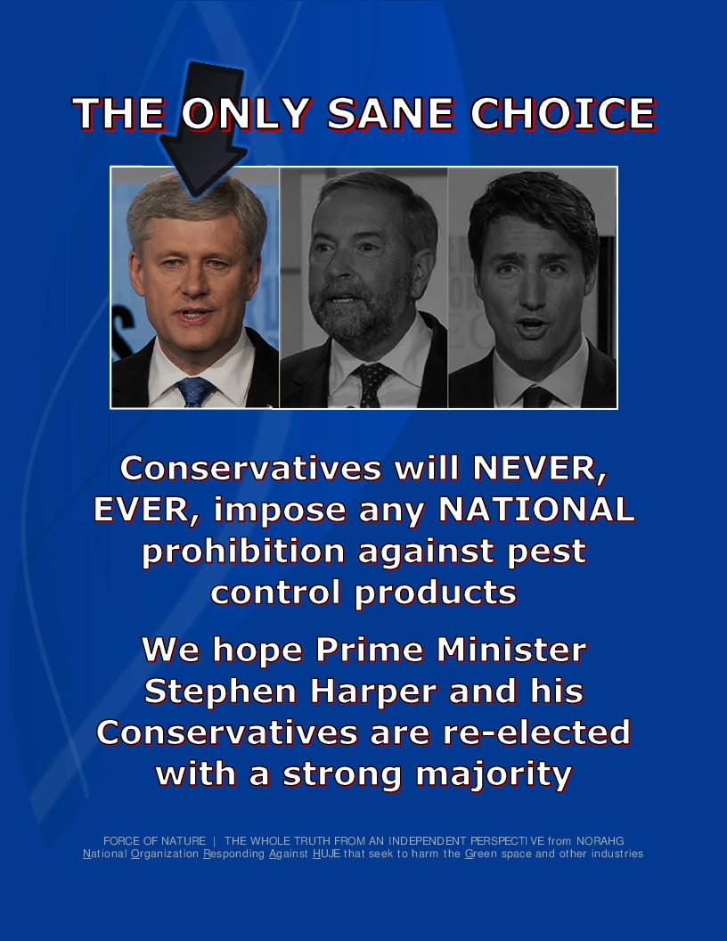 -- Conservative Party of Canada -- Vote Conservative -- 3-7