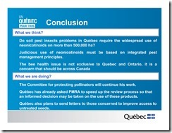 Slide Show -- Bees -- Neonicotinoids In Quebec -- Government Of Quebec -- 2013 08 19 xxxxxxxxxxxx-19