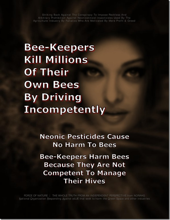 Bee Colony Collapse Disorder -- Truck Accidents -- 1-16