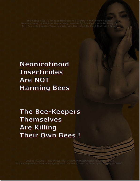 Neonicotinoids -- Honeybees Are Up (4)