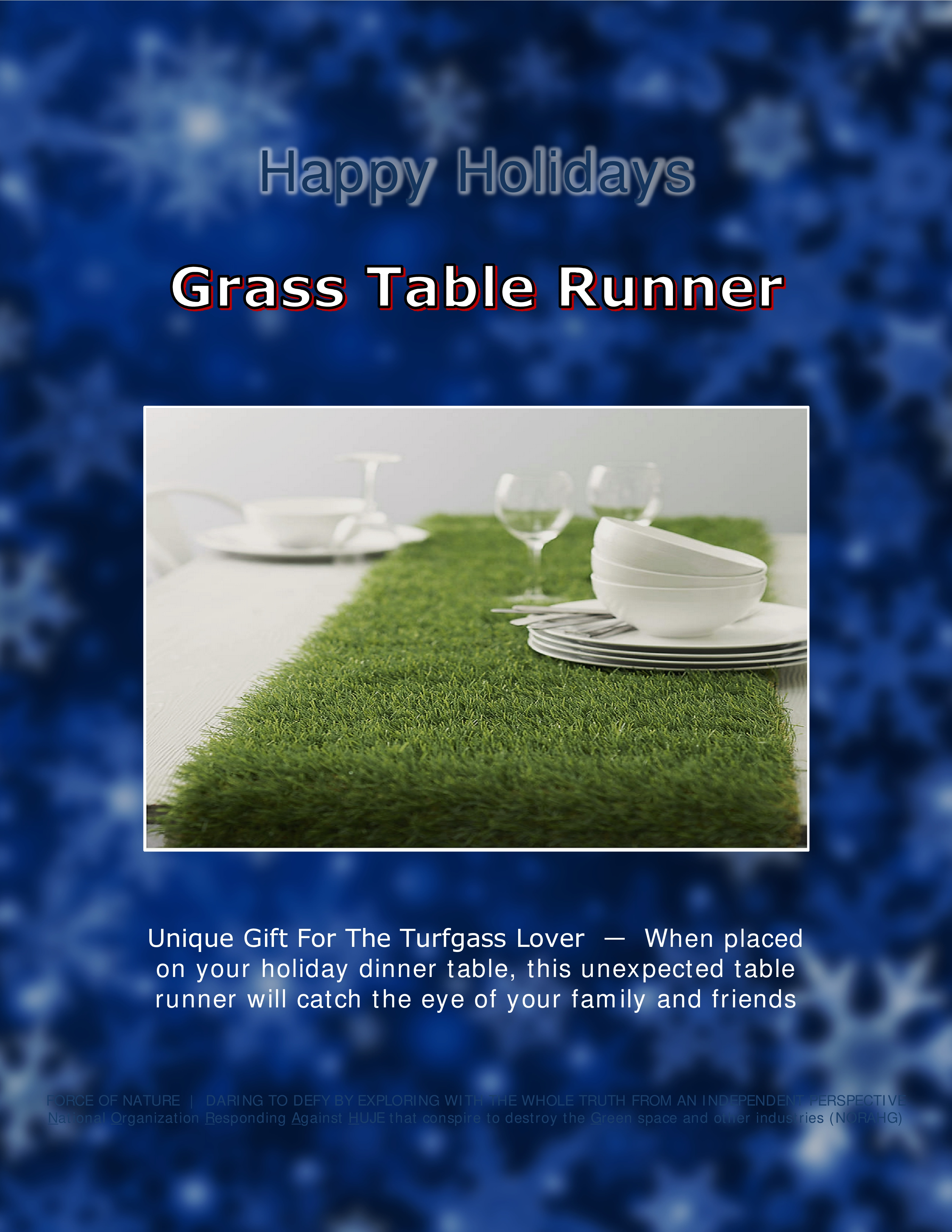 Force Of Nature Satire Happy Holidays 2016 11 21 Unique